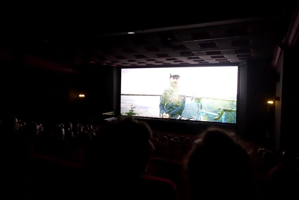 Simon, l'un des cyclistes héros du documentaire.