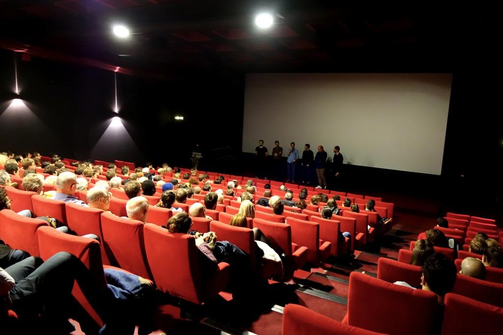 Présentation du projet par l'équipe du film.